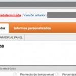 """Buscamos el parámetro """"explorer-table.rowCount en la URL de Google Analytics"""